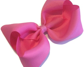 Passion Pink Bow