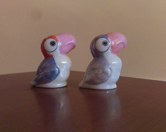 Vintage  Toucan Salt and Pepper Shakers
