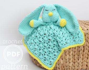 PDF Floppy the Bunny  crochet pattern lovey