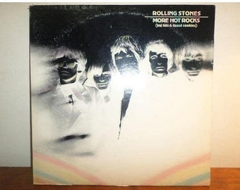 Vintage 1972 Vinyl LP Record The Rolling Stones More Hot Rocks Big Hits & Fazed Cookies Excellent Condition 12135
