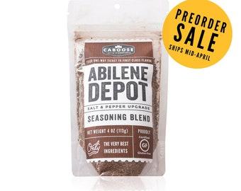 Preorder Sale: Abilene Depot Salt & Pepper Upgrade Seasoning Blend - Large Pouch (4 oz)