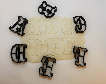Circus Alphabet and Letter Cookie Cutters