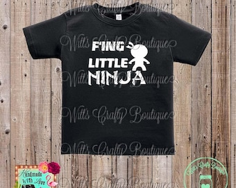 F'ing Little Ninja Shirt