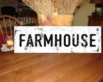 Farmhouse wood sign fixer upper joanna gaines large oversized Farmhouse Decor vintage decor wood sign old farmhouse sign 2351 distressed