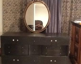 Black Beauty Dresser 9 Drawer