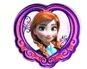 Applique 1 thermocollante Patch badge iron Anna frozen