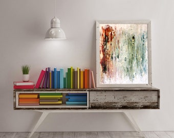Abstract Art - Spring Time Abstract Painting - Tree Talker Art - Spring Abstract Art