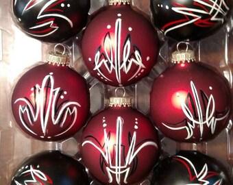 Hot rod Christmas ornaments!