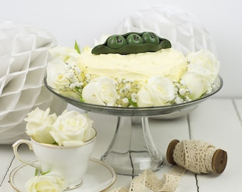 Peas In A Pod Wedding Cake Toppers