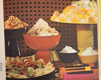 Family Circle Illustrated Library of Cooking  Volume 8  from 1972