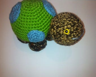 Turtle, Toy Tortoise, Amigurumi Turtle, Handmade Turtle, Crochet Turtle, Soft Toy, turtle Gift, green turtle