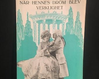 Original 1919 The Miracle Of Love Swedish Program Herald Movie Poster, Rare, Betty Compson