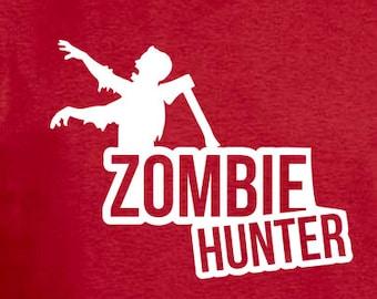 Zombie hunter. Custom handmade t-shirt