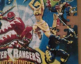 Power Rangers Jigsaw Puzzle