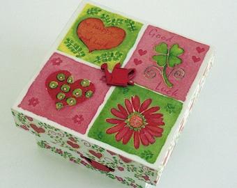 """Box of secrets """"Dans mon jardin"""""""