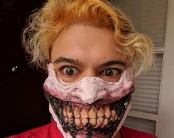 Batman Who Laughs Half Mask