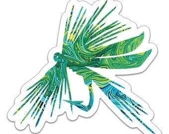 The Fly Art Sticker