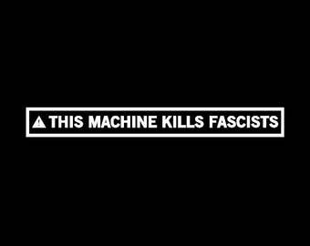 Babies and Toddlers This Machine Kills Fascists Onesie or Tot's Tee in Size Newborn, 6 Months, 12 Months, T2, T3, & T4