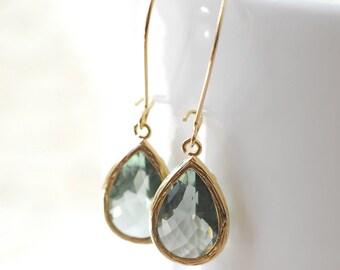Gray Bridesmaid Earrings Bridesmaid Gift Bridal Earrings Jewelry Wedding Jewelry