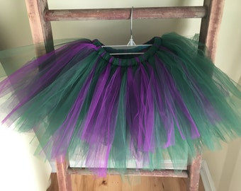 Emerald Green and Purple Hulk Marvel Inspired Tutu Running Tutu