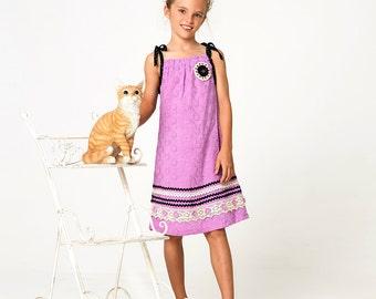 EASY girls dress pattern pdf, Girls top pattern PDF,Childrens sewing pattern pdf, girls sewing pattern pdf, SOPHIA