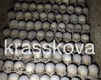Brno Ossuary - Skulls ---Photo