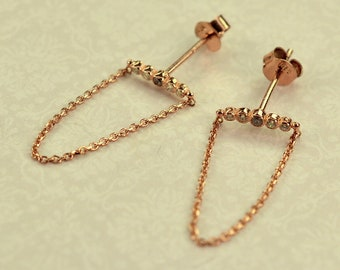 Handmade silver 925 women earrings