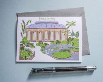 Royal Botanic Garden Edinburgh Card