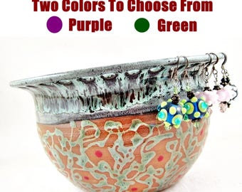 Jewelry holder, Jewelry Bowl, Earring holder, Earring bowl, Earring organizer