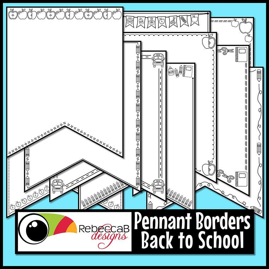 Volver a imágenes prediseñadas de escuela a escuela fronteras de ...