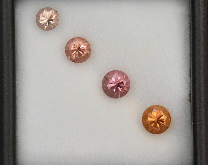 Gorgeous Multi Color Zircon Gemstone Set from Tanzania 2.50 tcw.