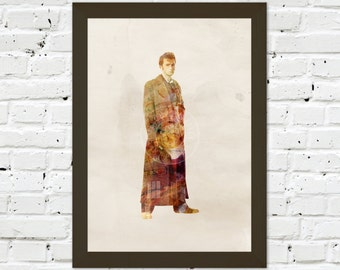 0037 Dr Who David Tennant A3 Wall Art Print Multiple Sizes