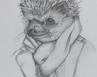 Hedgehog in a Jacket