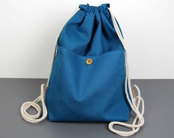 Backpack --> Blue