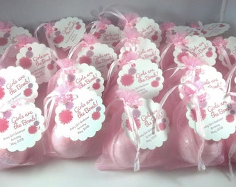 Beautiful 24 Bath Bomb Baby Shower Favors ...