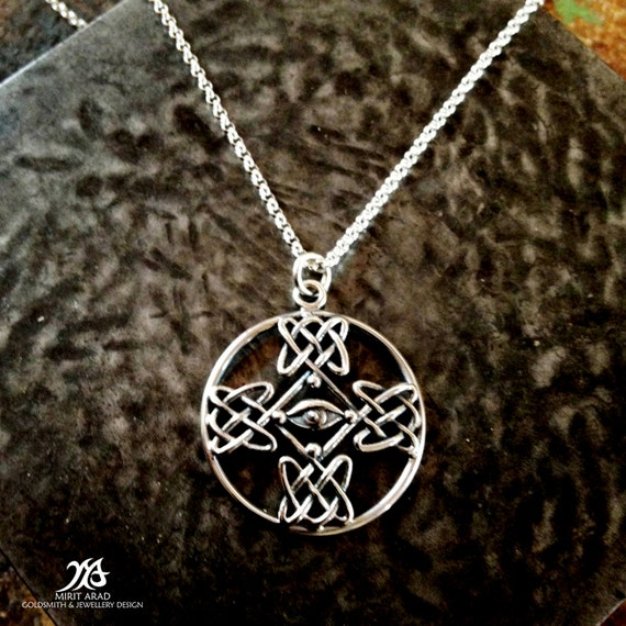 Dave Gahan cross tattoo sterling silver handmade