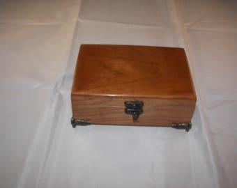 Cherry Box - Keepsake Box / Jewelry Box [100_2138]