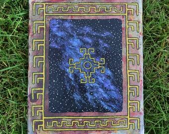 Chakana cosmos painting