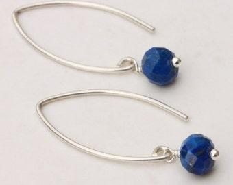 Almond shape drop earrings, Leaf Shape Drop Earrings, Dainty Drop Earrings, Gemstone Drop Earrings, Everyday Drop Earrings, Gemstone Earring
