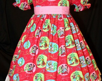 DISNEY Mickey Christmas Ornaments CHRISTMAS Dress Custom Size