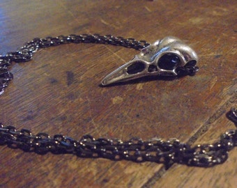 Crow Skull Totem Necklace
