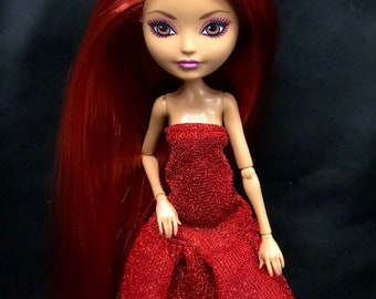 Ooak reroot Ever After High, Briar Beautycustom faceup Monster High doll by Denisa