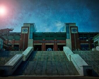 Packers Decor, Packers Art, Lambeau Field - Oneida Nation Gate - Green Bay Packers