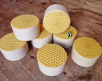 Soap honey, honey soap, natural soap, bar soap, no fragrance, natural, honey, beeswax
