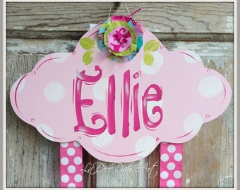 Hair Bow Holder, Hand Painted Personization, Clip holder, Bow Holder, Bow Keeper, Bows, Girls Hair Bow Holder, Personalized Bow Holder