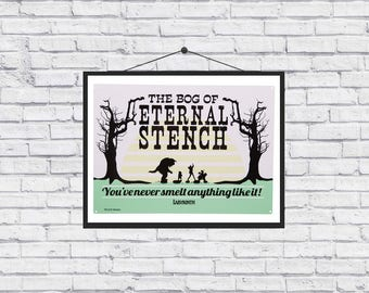 The Labyrinth Bog of Eternal Stench poster