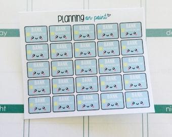 Kawaii Credit Card Planner Stickers!