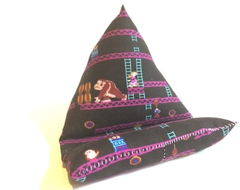 Cell Phone Stand, Donkey Kong fabric electronics stand, cell phone stand, tablet stand