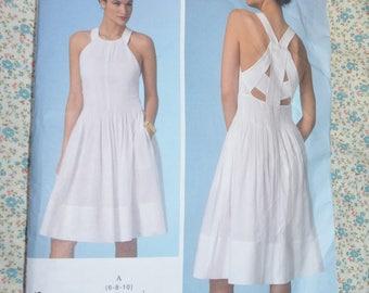 Vogue 1446 Rebecca Taylor Misses Dress Sewing Pattern - UNCUT - Size 6 8 10