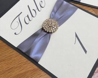 Numéros de Table de mariage - or - personnaliser - décor de mariage - décorations d'événements - Table - vous choisissez - personnalisé - événement Decor - décorations de mariage